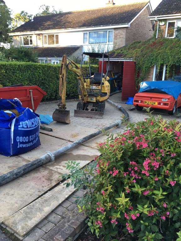 Concrete Pump Hire Watford by Easy Pump