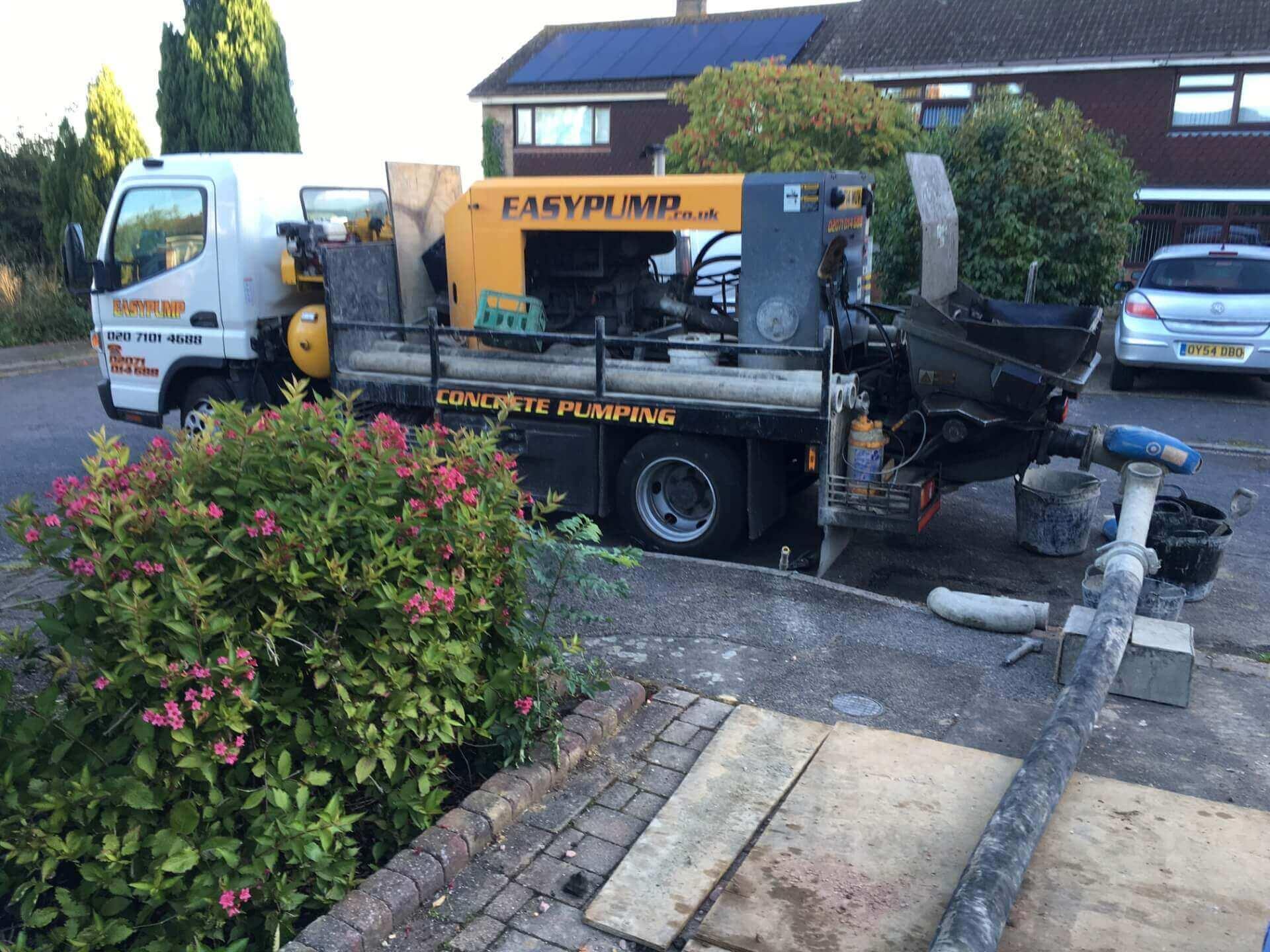 Concrete Pump Hire Near Me Denham